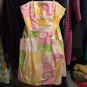 Lilly Pulitzer Blossom Dress Fresh Picked Patch 6